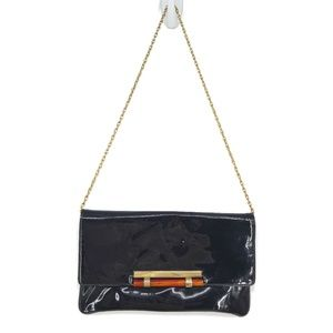 3 for $20- Vintage Patent Leather Gold Chain Purse